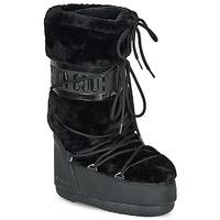 Buty Damskie Śniegowce Moon Boot MOON BOOT CLASSIC FAUX FUR Czarny