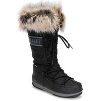 Buty Damskie Śniegowce Moon Boot MOON BOOT MONACO WP 2 Czarny
