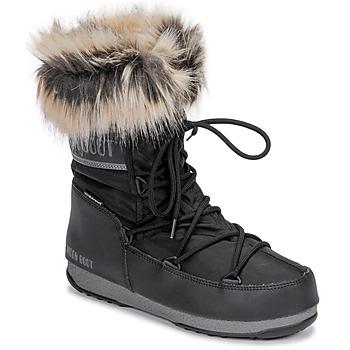 Buty Damskie Śniegowce Moon Boot MOON BOOT MONACO LOW WP 2 Czarny