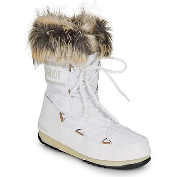 Buty Damskie Śniegowce Moon Boot MOON BOOT MONACO LOW WP 2 Biały