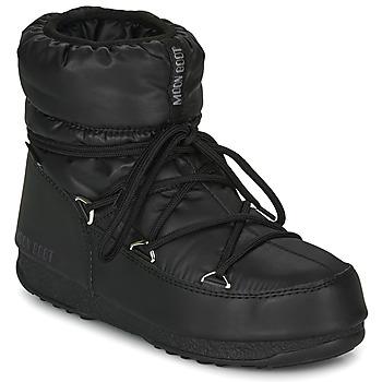 Buty Damskie Śniegowce Moon Boot MOON BOOT LOW NYLON WP 2 Czarny