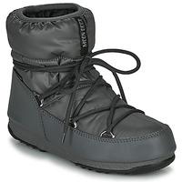 Buty Damskie Śniegowce Moon Boot MOON BOOT LOW NYLON WP 2 Szary