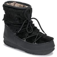 Buty Damskie Śniegowce Moon Boot MOON BOOT MONACO LOW FUR WP Czarny
