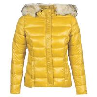 tekstylia Damskie Kurtki pikowane Kaporal PERLE Żółty