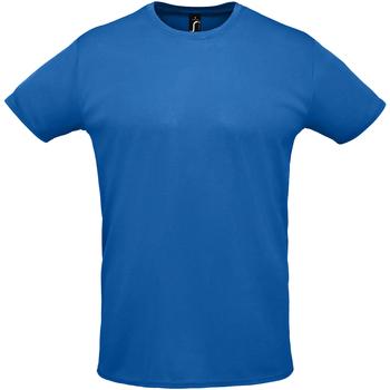 tekstylia Męskie T-shirty z krótkim rękawem Sols SPRINT SPORTS Azul
