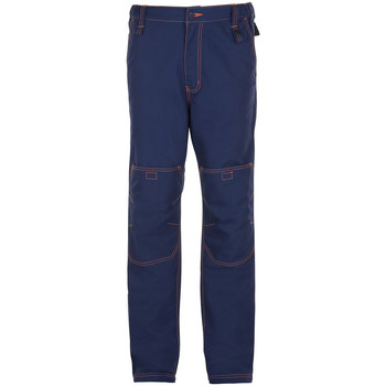 tekstylia Męskie Jeansy straight leg Sols SECTION PRO MULTI WORK Azul