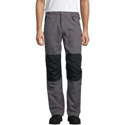 tekstylia Męskie Spodnie z pięcioma kieszeniami Sols METAL PRO MULTI WORK Multicolor