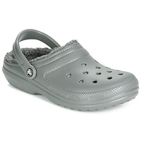 Buty Chodaki Crocs CLASSIC LINED CLOG Szary