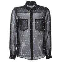 tekstylia Damskie Koszule Ikks BP12165-02 Czarny