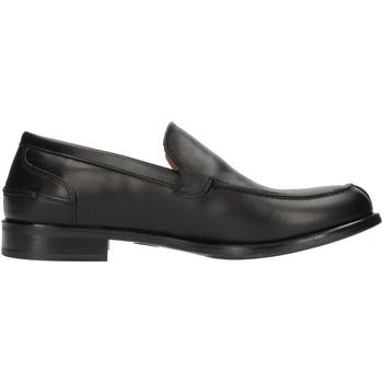 Buty Męskie Mokasyny Sandro Ramadori 9280 Niesznurowane mokasyny Człowiek Czarny