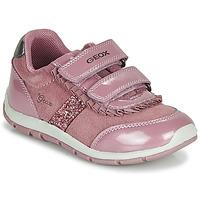 Buty Dziewczynka Trampki niskie Geox B SHAAX Różowy