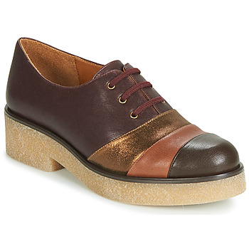 Buty Damskie Derby Chie Mihara YELLOW Bordeaux