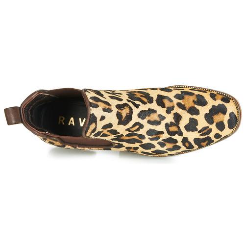 Ravel Gisborne Leopard - Bezpłatna Dostawa- Buty Za Kostkę Damskie 279,30 Zł
