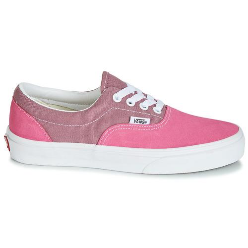 Vans Era Różowy - Bezpłatna Dostawa- Buty Trampki Niskie Damskie 23030 Najniższa Cena