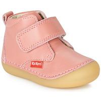 Buty Dziewczynka Buty za kostkę Kickers SABIO Różowy