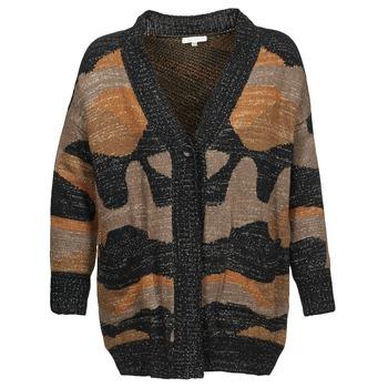 tekstylia Damskie Swetry rozpinane / Kardigany See U Soon DUZIR Wielokolorowe