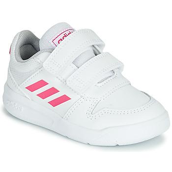 Buty Dziewczynka Trampki niskie adidas Performance VECTOR I Biały / Różowy