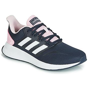 Buty Damskie Trampki niskie adidas Performance RUNFALCON Czarny / Różowy