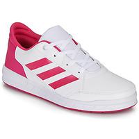 Buty Dziewczynka Trampki niskie adidas Performance ALTASPORT K Biały / Różowy