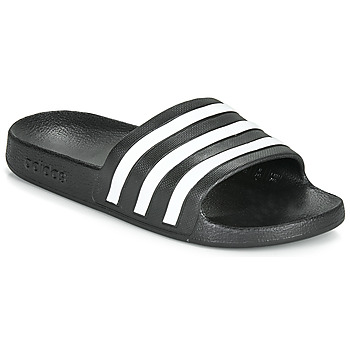 Buty klapki adidas Performance ADILETTE AQUA Czarny / Biały