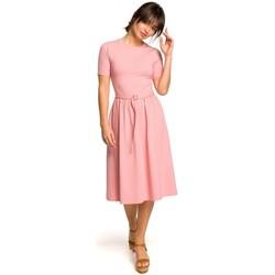 tekstylia Damskie Swetry rozpinane / Kardigany Be B099 Płaszcz na jeden guzik Szary