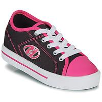 Buty Dziewczynka Buty na kółkach Heelys CLASSIC X2 Czarny / Różowy