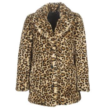 tekstylia Damskie Płaszcze Oakwood USER Leopard