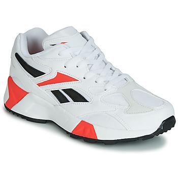 Buty Chłopiec Trampki niskie Reebok Classic AZTREK 96 J Biały