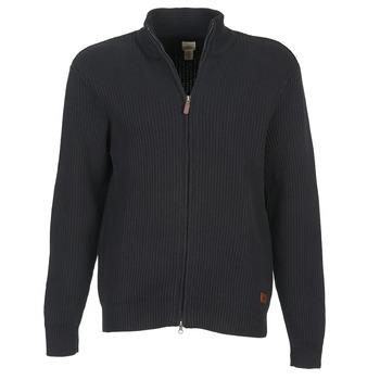 tekstylia Męskie Swetry rozpinane / Kardigany Dockers NEW FULL ZIP Czarny
