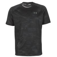 tekstylia Męskie T-shirty z krótkim rękawem Under Armour TECH 2.0 SS PRINTED Czarny