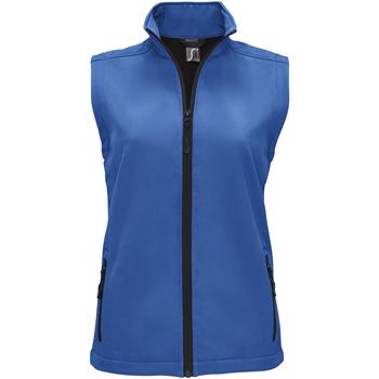 tekstylia Damskie Swetry rozpinane / Kardigany Sols RACE BW WOMEN Azul