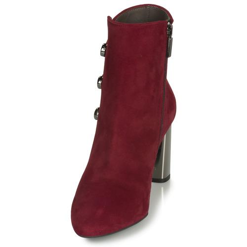 11312-CAM-ROUGE  Perlato  botki  damskie  czerwony
