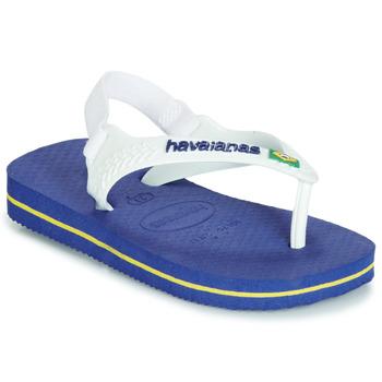 Buty Chłopiec Sandały Havaianas BABY BRASIL LOGO Marine