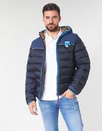 tekstylia Męskie Kurtki pikowane Napapijri ARIC Marine
