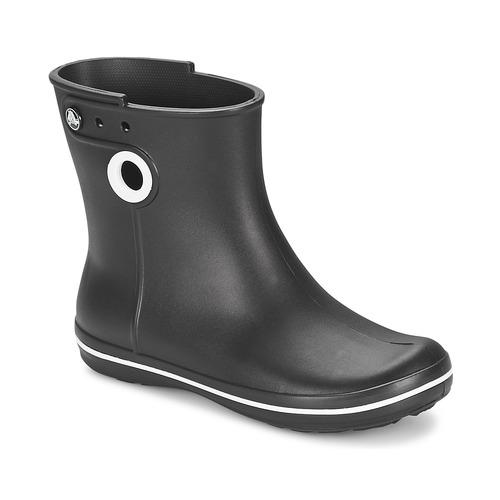 Buty Damskie Kalosze Crocs JAUNT SHORTY BOOT W-BLACK Czarny