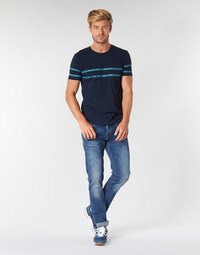 tekstylia Męskie Jeansy straight leg Pepe jeans CASH Niebieski / Medium