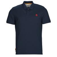 tekstylia Męskie Koszulki polo z krótkim rękawem Timberland SS MR Polo Slim DARK SAPPHIRE Marine