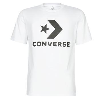 tekstylia Męskie T-shirty z krótkim rękawem Converse STAR CHEVRON Biały