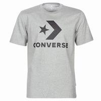tekstylia Męskie T-shirty z krótkim rękawem Converse STAR CHEVRON Szary