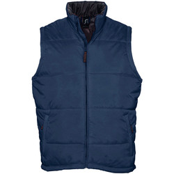 tekstylia Męskie Kurtki pikowane Sols WARM PRO WORK Azul