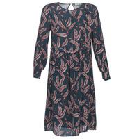 tekstylia Damskie Sukienki długie See U Soon 9222127 Marine / Bordeaux