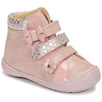 Buty Dziewczynka Buty za kostkę Citrouille et Compagnie HODIL Różowy