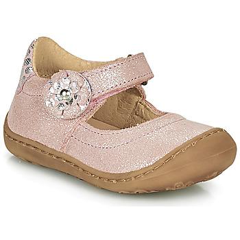Buty Dziewczynka Baleriny Citrouille et Compagnie LASKIMA Różowy
