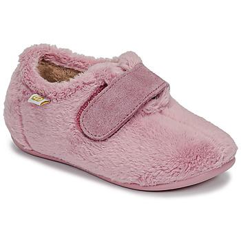 Buty Dziewczynka Obuwie domowe Citrouille et Compagnie LAFINOU Różowy