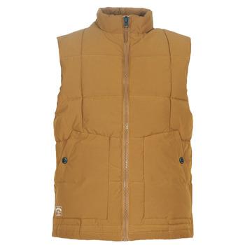 tekstylia Męskie Kurtki pikowane Oxbow L2JONBAY Camel