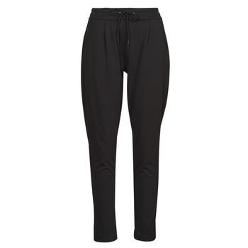 tekstylia Damskie Spodnie z lejącej tkaniny / Alladynki Les Petites Bombes W19V1103 Czarny