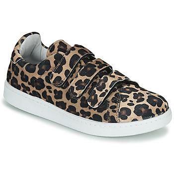 Buty Damskie Trampki niskie Yurban LABANE Leopard