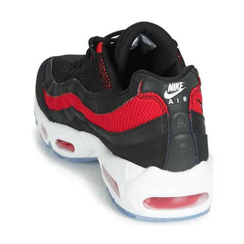 Nike Air Max 95 Czarny / Czerwony - Bezpłatna Dostawa- Buty Trampki Niskie Meskie 74900 Najniższa Cena