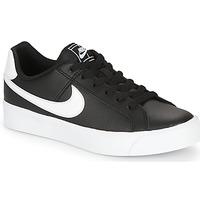 Buty Damskie Trampki niskie Nike COURT ROYALE AC W Czarny / Biały