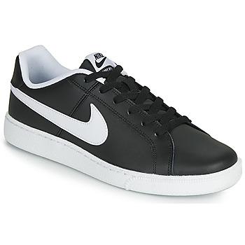 Buty Męskie Trampki niskie Nike COURT ROYALE Czarny / Biały